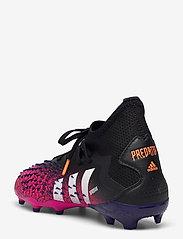 adidas Performance - PREDATOR FREAK .2 FG - fotballsko - cblack/ftwwht/shopnk - 2