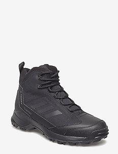TERREX FROZETRACK MID R.RDY - buty na wędrówki - cblack/cblack/grefou