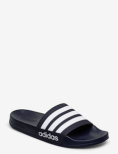 Adilette Shower Slides - pool sliders - conavy/ftwwht/conavy