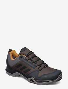 TERREX AX3 GTX - buty na wędrówki - grefiv/cblack/mesa
