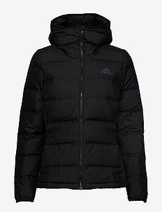 Helionic Down Jacket W - ulkoilu- & sadetakit - black