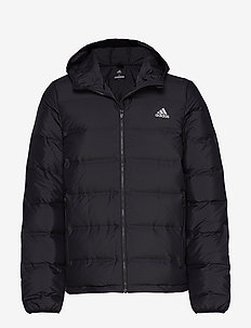 Helionic Hooded Down Jacket - outdoor- & regenjacken - black