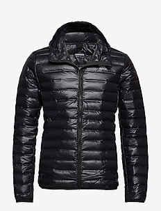 Varilite Hooded Down Jacket - outdoor- & regenjacken - black