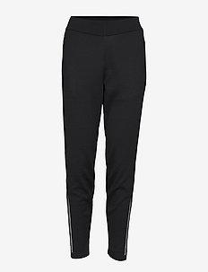 W Id Kn Stk Pt - pants - black
