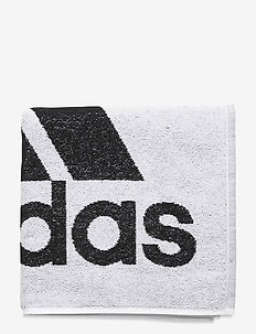 ADIDAS TOWEL S - beach towels - white/black