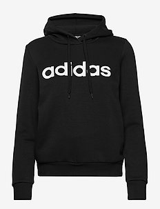 Essentials Linear Pullover Hoodie W - hupparit - black/white