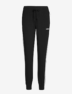 Essentials 3-Stripes Pants W - treenihousut - black/white