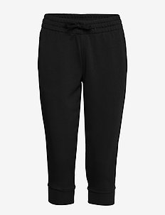 Essentials Linear 3/4 Pants W - treenihousut - black/white