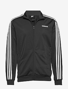 Essentials 3-Stripes Tricot Track Jacket - podstawowe bluzy - black/white