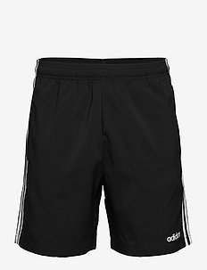 Essentials 3-Stripes Chelsea Shorts 7 Inch - training shorts - black/white