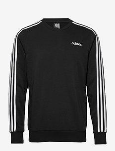 E 3S CREW FT - basic sweatshirts - black/white