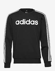 Essentials 3-Stripes Sweatshirt - swetry - black/white