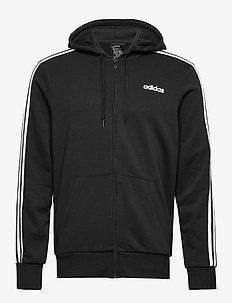E 3S FZ FT - sweats basiques - black/white