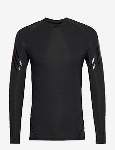 ASK TEC LS  3S - bluzki z długim rękawem - black