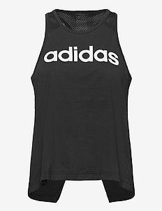 Designed To Move Logo Tank Top W - tank tops - black/white