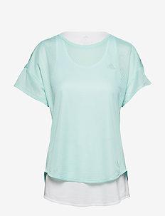 ADAPT TEE W - logo t-shirts - clemin/white