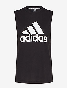 W MH BOS TANK - tank tops - black/white