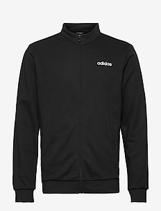Essentials Linear Track Jacket - podstawowe bluzy - black/white
