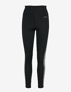 W D2M 3S HR LT - leggings - black/white