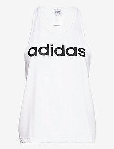 Designed To Move Logo Tank Top W - tank tops - white/black