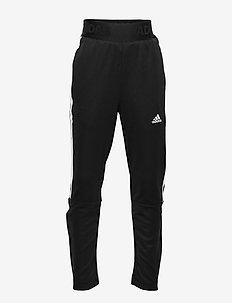YB TIRO PANT 3S - jogginghosen - black/white