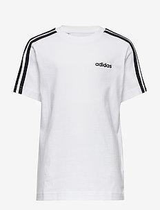 YB E 3S TEE - krótki rękaw - white/black