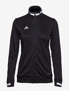 T19 TRK JKT W - sweatshirts - black