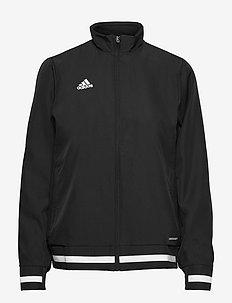 Team 19 Woven Jacket W - treningsjakker - black/white