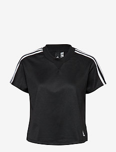AtTEETude Tee - crop tops - black/white
