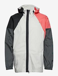 The Pack WND - sports jackets - rawwht/legivy/black/p