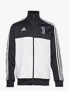 JUVE 3S TRK TOP - BLACK/WHITE