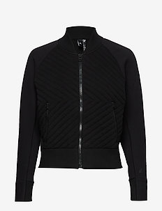 W V.CITY JKT HB - sweatshirts - black