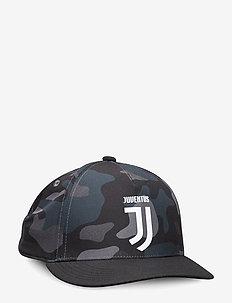 JUVES16 CAP CW - BLACK/DKGREY/GREFIV/W