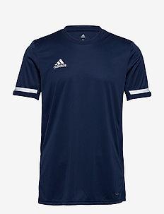 Team 19 Short Sleeve Jersey - football shirts - navblu/white