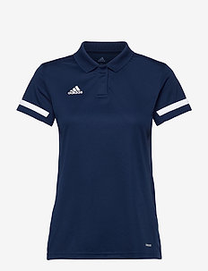 Team 19 Polo Shirt W - football shirts - navblu/white