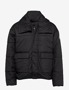 BIG BAFFLE JKT - BLACK