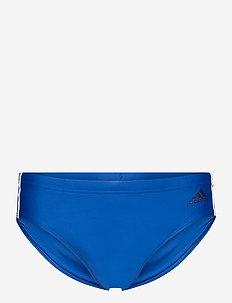 Fitness 3-Stripes Swim Trunks - slip de bain - croyal/white