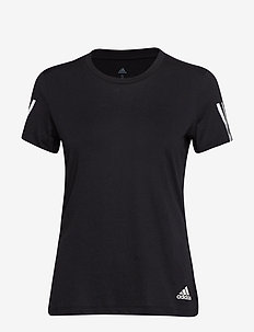 RUN IT TEE SOFT - logo t-shirts - black