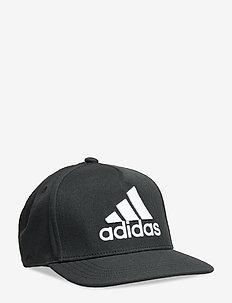 H90 LOGO CAP - BLACK/BLACK/WHITE