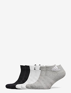 Cushioned Ankle Socks 6 Pairs - chaussettes sport - mgreyh/mgreyh/white/w