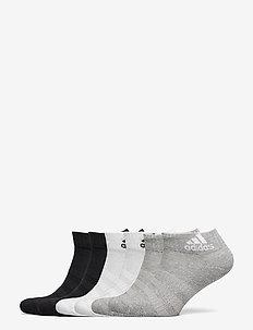 Cushioned Ankle Socks 6 Pairs - ankelstrumpor - mgreyh/mgreyh/white/w