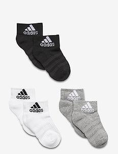 CUSH ANK 3PP - socks - mgreyh/white/black