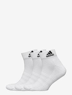 CUSH ANK 3PP - ankelstrømper - white/white/white