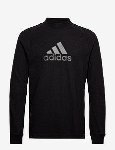 M ID WINTER LS - bluzki z długim rękawem - black