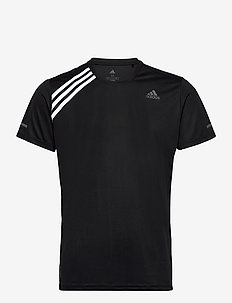 Run It 3-Stripes T-Shirt - sportstopper - black/white