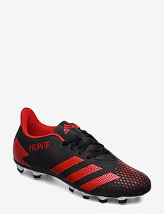 PREDATOR 20.4 FxG - football shoes - cblack/actred/ftwwht
