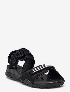 Terrex Cyprex Ultra II DLX Sandals - høyhælte sandaler - cblack/ftwwht/cblack