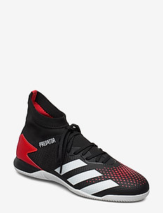 PREDATOR 20.3 IN - football shoes - cblack/ftwwht/actred