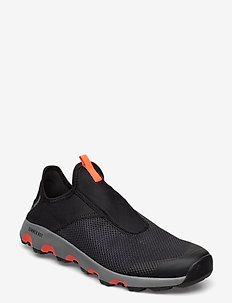 TERREX CC VOYAGER SLIP ON - running shoes - cblack/grethr/solred