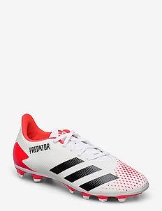 PREDATOR 20.4 FxG - football shoes - ftwwht/cblack/pop